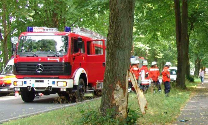 Wypadek Grojec 25.07.2014
