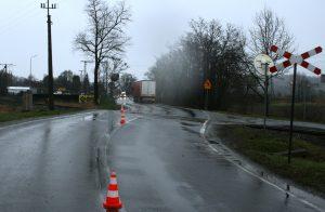 KPP Oświęcim. Wypadek drogowy Palczowice 16.04