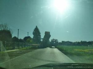 prace drogowe Polanka Wielka