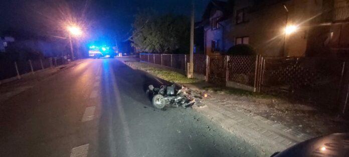 KPP Oświęcim. Wypadek śmiertelny Osiek 4.06