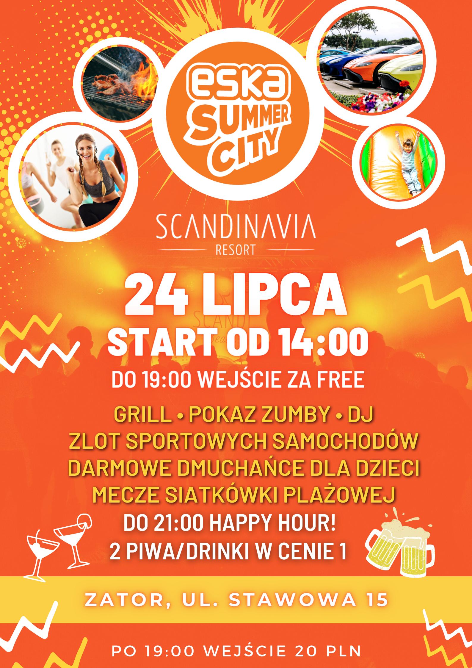 ska Summer City w Scandinavia Resort!